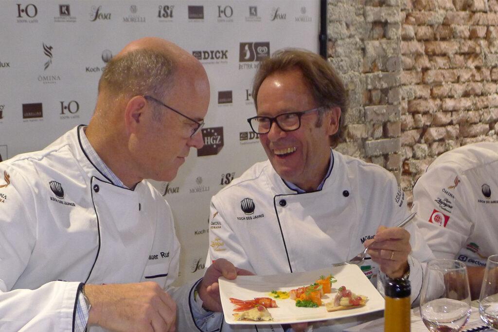 Dieter Müller, Rudi Obauer