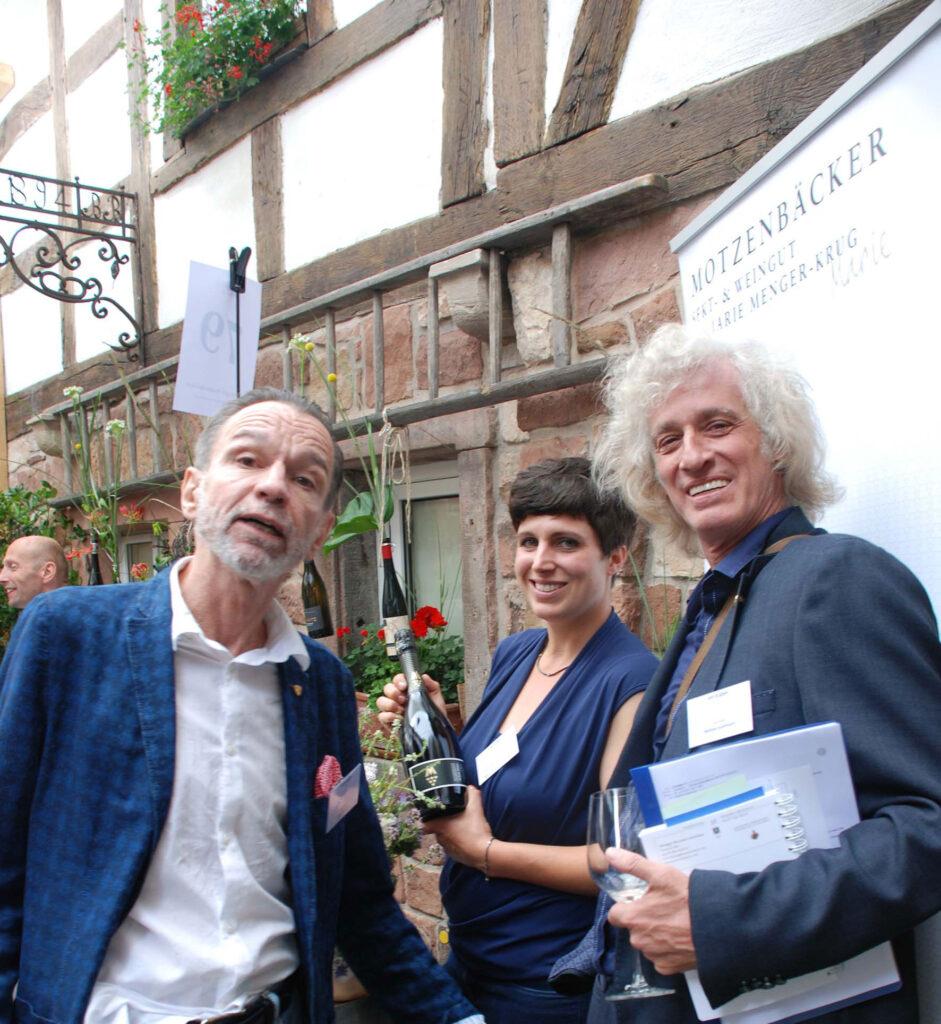 Uwe Warnecke, Marie Menger-Krug, Mathias Guthmann Foto: Tom Mettendorf