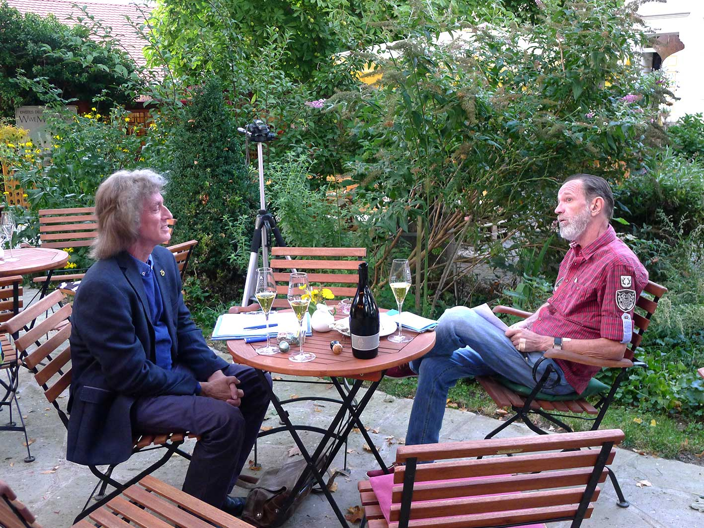 Take a Walk on the Wine Side, Interview mit Uwe Warnecke
