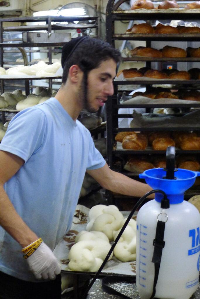 Eine Bäckerei in Me'a Sche'arim