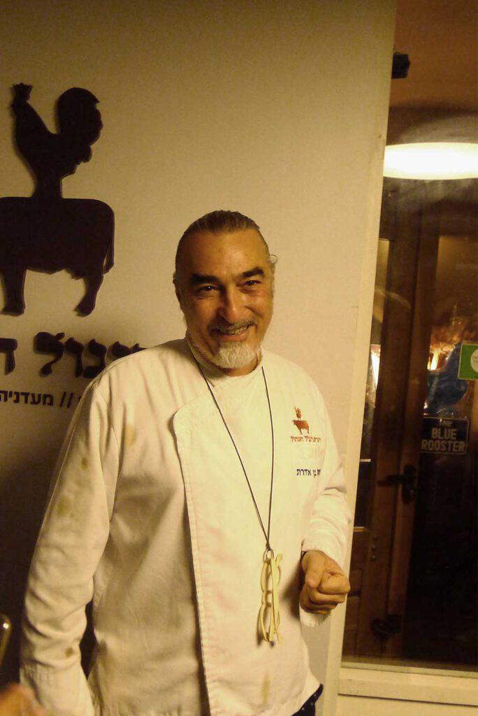 Ben Aderet, Chef Blue Rooster, Tel Aviv