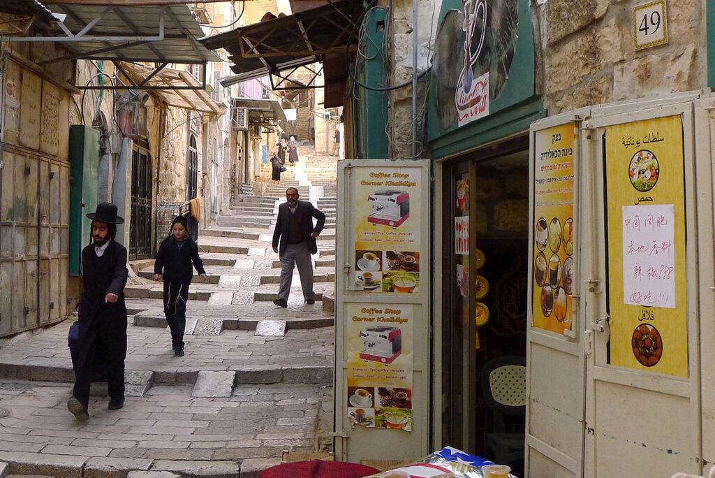 Die Altstadt in Jerusalem, Aufeinandertreffen der Kulturen und Religionen
