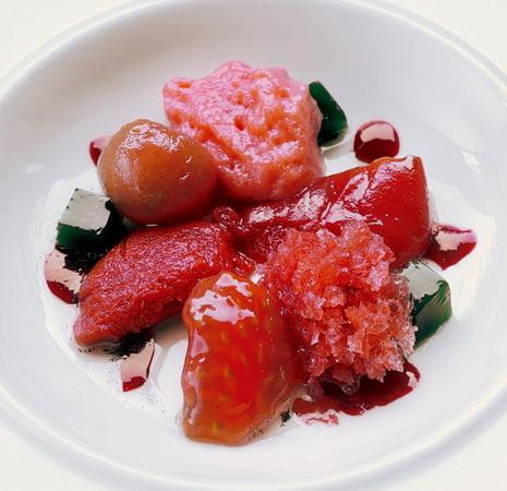 tomates en texturas, Quelle: elBulli Foundation
